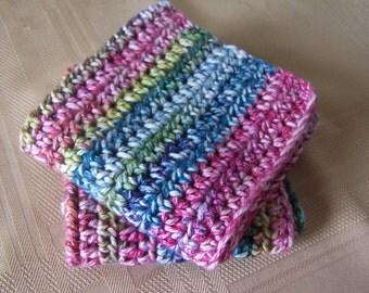 Dishcloths/Washcloths, Housewarming Gift, Home Decor, Crochet Dishcloths/Washcloths, Spa Gift