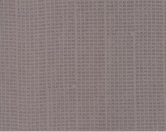 Compositions by Basicgrey for Moda - 10 Key - Stone - 1/2 Yard Cotton Quilt Fabric 117