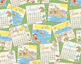 Vacation Days (Multi) - Storybook Vacation - Whistler Studios - Windham Fabrics - 1 Yard