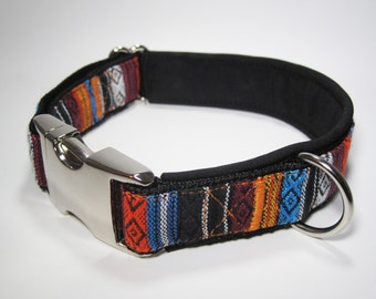 Padded and Adjustable Dog Collar, Size M, 33-40 cm, puppy collar