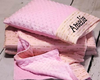Girls Nap Mat Cover - Nap Mat - Kindermat Cover - Personalized Nap Mat Cover - Toddler Nap Mat - Preschool Supplies - arrow nap mat - pink