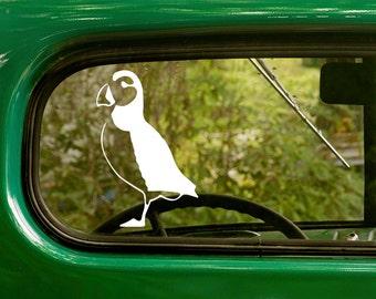 Puffin Decal, Puffin Sticker, Bird Decal, Car Decal, Vinyl Sticker, Animal, Car Stickers, Laptop Sticker, Vinyl Decal