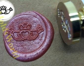 S1008 Wax Seal Stamp Claddagh , Sealing wax stamp, wax stamp, sealing stamp