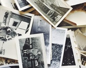 Mystery Lot of Original Antique Black & White Photographs | Instant Collection | Quanity : 75