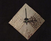 Dazzling and Affordable,  Quality Movement, Handmade / Hammered and Flame Painted Copper Faced Wall Clock ...