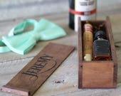 Groomsmen Gift Wood Box, Groomsman Cigar Gift Box, Best Man Whiskey Cigar Box, Will you be My Groomsmen Gift, Laser Engraved