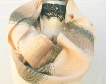 Gift for women womens, Thick blanket winter scarves scarf, winter wraps shawls, ombre infinity scarf, popular shops items, PiYOYO