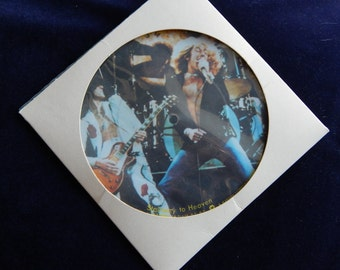 """Led Zeppelin 7"""" Picture Disc Studio Issue - Stairway/Hey Hey"""