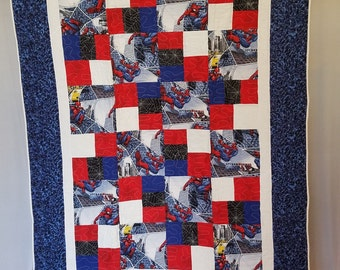 SPIDERMAN Marvel Comic QUILT