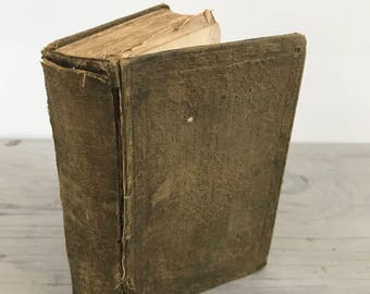 Antique Children's Book - The History Of Sanford And Merton: A Book For The Young by Thomas Day - 1853 - Rare - Short Stories