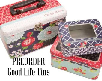 PREORDER The Good Life Tins Set of 3 by Bonnie and Camille - Moda