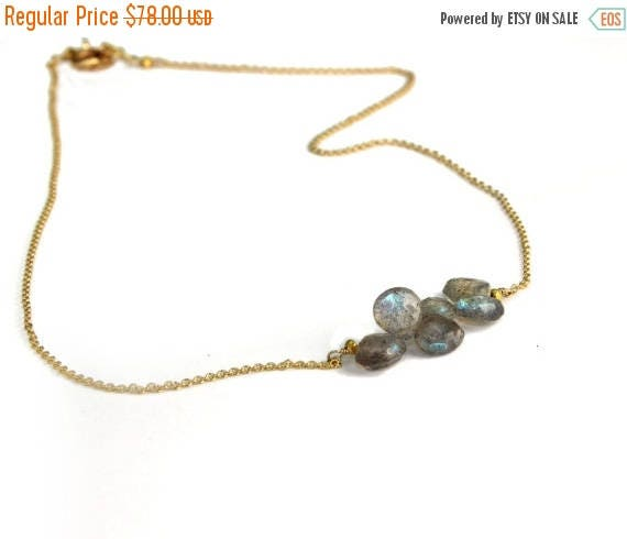 20% off. Labradorite Necklace. Horizontal Bar Necklace. Personalized Birthstone Options. Gold Fill or Sterling Silver. NS-1919-3