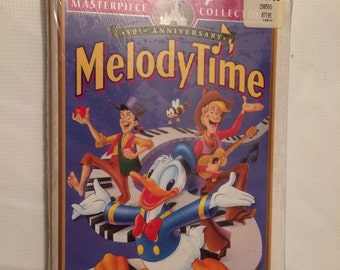 Melody Time Sealed VHS Tape Walt Disney NEW