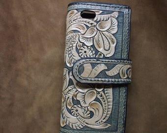 Western iPhone 6 Plus Phone Case,  Customcard holder  IPhone wallet