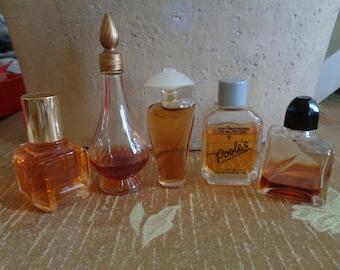 Vintage Mini Perfumes 5 Fantasque Creature Pooles Gossip