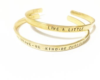 skinny gold stacking cuffs