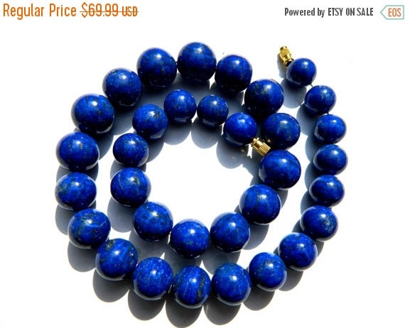 20%off. AAA. Lapis Lazuli Roundel Smooth Beads, Royal Blue Color HIGH Quality,100 Percent Genuine