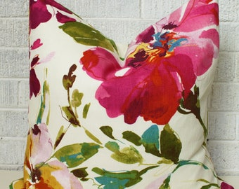 Reserved listing - Floral Pillow Cover