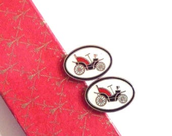 Retro Vintage Car Cuff Links