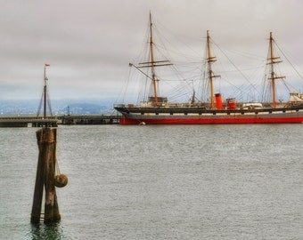 San Francisco Ship Photo Print