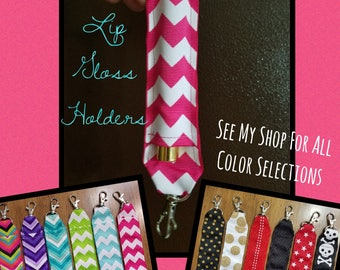 Colors 27-50 - Individual or *GRAB BAG DEAL* LipSense/Lip Gloss Keychain Holders