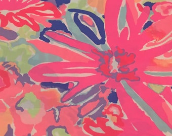New Spring Multi Playa Hermosa Spring 2017 cotton poplin  9 X 18 inches  ~Lilly Pulitzer~