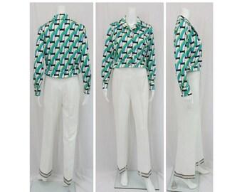 1970's Mr. DINO Designer Pantsuit Size 12