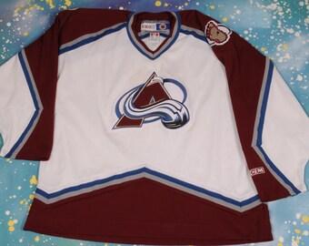 Colorado AVALANCHE CCm Hockey Jersey Size XXL