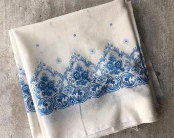 Muslin fabric, made in USSR, Sewing supplies, Needlecraft , Vintage Cotton, Vintage Fabric Muslin, Handmade supplies