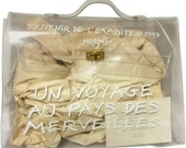 Vintage Hermes a rare transparent clear vinyl Kelly bag, Japan limited Edition in 1997. Rare masterpiece