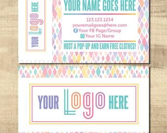 LuLa Business Cards, LLR Business Cards, Home Office Approved fonts, HO approved colors, LuLa Marketing Roe, LLR Marketing