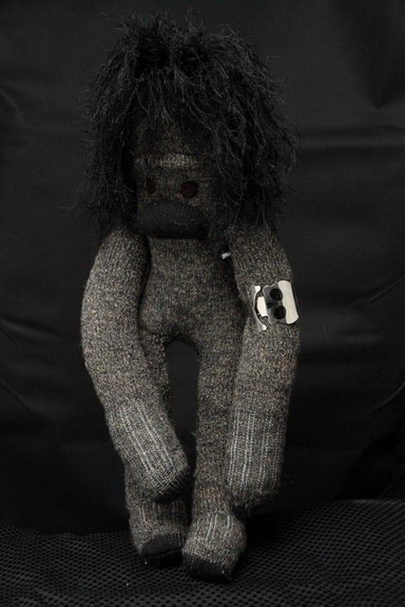 Bigfoot sock monkey, Socksquatch the Sasquatch