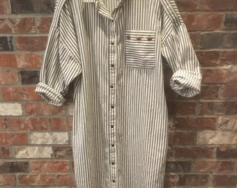 Vintage Neiman Marcus Stripe Dress