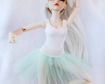 Tutu ballet skirt for MiniFee (moe, A-line), Ellowyne Wilde, Tonner and other MSD 16 inches doll