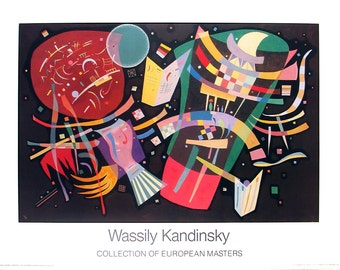 Wassily Kandinsky-Composition X-1986 Poster