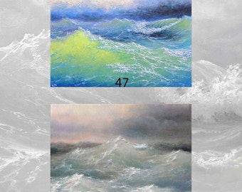 Lot #6 of 2 ACEO archival art prints 47, 101