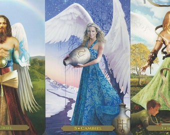 Angel Oracle Intuitively Channeled Oracle Reading - 1 Question - PDF Document