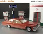 30% OFF SALE 1977 Saffron Firemist Cadillac Dealer Promotional Model Car