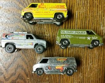 Hot Wheels super vans Black Walls 1977-79
