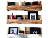 Reclaimed Pallet Shelves Set of 3