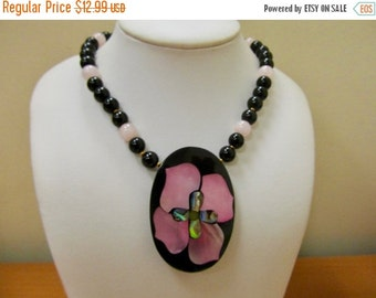 On Sale LEE SANDS Genuine Stone Inlay Necklace Item K # 1683
