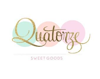 Custom Business Logo OOAK Design - Branding Package includes Logo, Watermark, Banner, Avatar, Business Card  - Boutique Branding