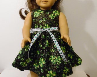 """St Patricks Day  Handmade  Dress fitting American Girl & Similar 18"""" Soft Bodied Dolls - Doll Clothes"""