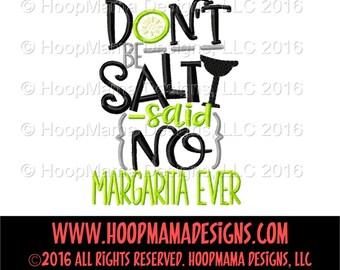 Don't Be Salty Said No Margarita Ever, Margarita, Margarita Shirt, Ladies Shirt, Summer Shirt, Vacation Shirt