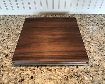 """12""""x12"""" Walnut Cutting Board"""