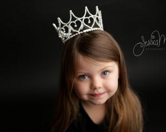 crown, Photo Prop, child crown, toddler crown, photography prop, crystal crown, crown photo prop, princess crown - Olivia