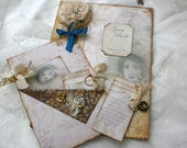 Spanish colonial fairy tale inspired book in vintage style