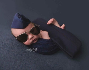 Infant Flight Cap Only, Air Force Cap, Air Force Flight Cap, Marine Flight Cap, Garrison Cap, Military Baby