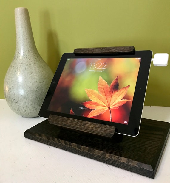 NEW Universal Tilting Tablet Stand for Point of Sale / Ipads / Samsung Galaxy - Ebony Finish