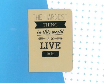 Buffy quote notebook - BTVS